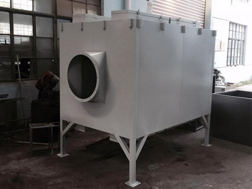 活性炭箱的钣金制作